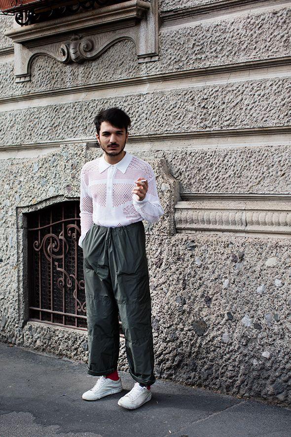 On the Street…Before Prada, Milan - http://pinterestcenter.com/on-the-streetbefore-prada-milan-2/