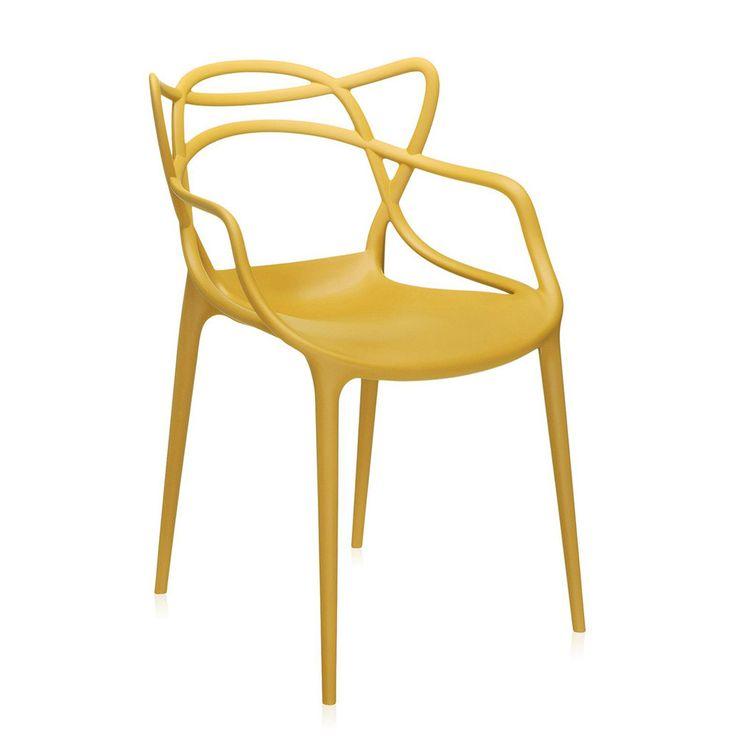 Buy Kartell Masters Chair - Mustard | Amara