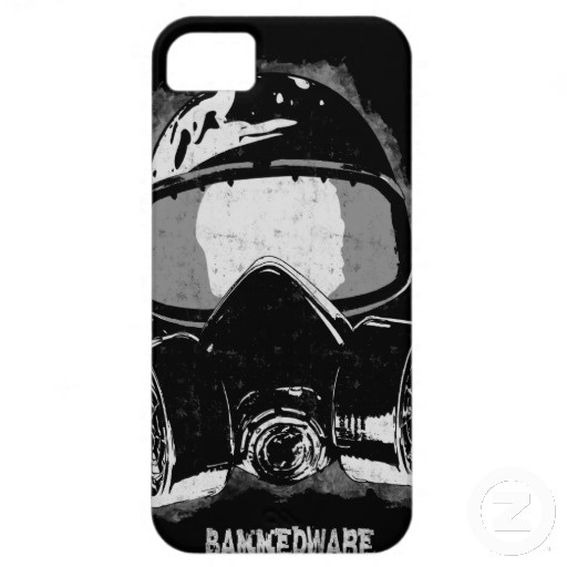 BannedWare paint mask iPhone 5 Covers