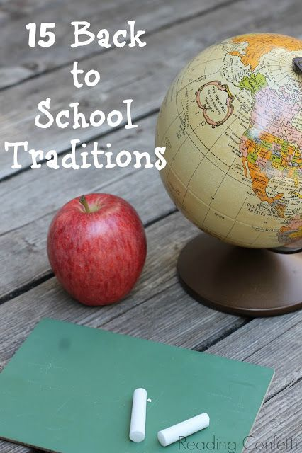 Back to School Tips and Traditions | Fantastic Fun & Learning