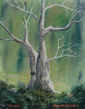 'The Tree' Painting by Rex WOODMORE