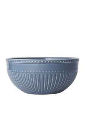 Mikasa Italian Countryside Fluted Cereal Bowl - Blue - One Size