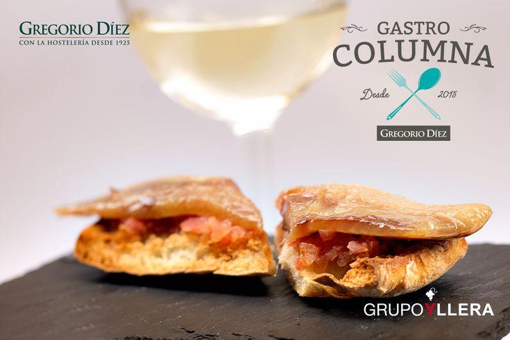 Tosta de sardina ahumada en María Eugenia, Calle Dulzainero Ángel Velasco, Valladolid