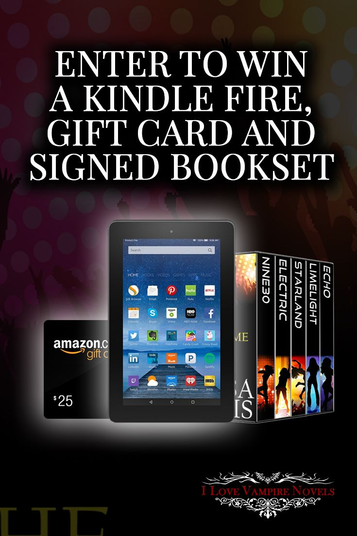 Win A Kindle Fire, $25 Amazon Gift Card And Signed Boxset From Author  Melissa Lummis