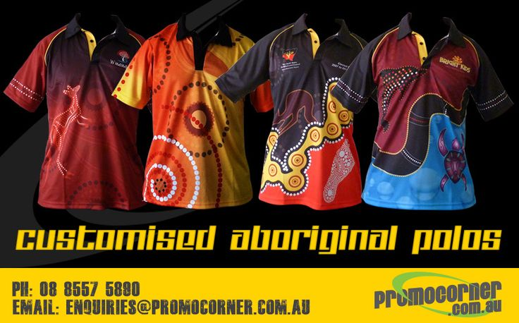 Aboriginal Shirts | Indigenous Shirts  http://www.promocorner.com.au/aboriginal-clothing/sublimated-aboriginal-shirts/