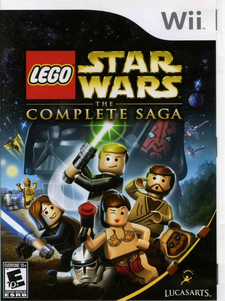 lego star wars video game wii - Google Search, this was one of the first Wii games we got. my brother was obsessed with Star Wars, and we played it contently.
