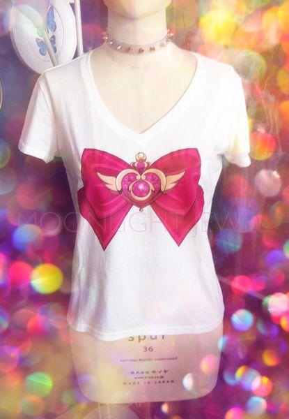 Broschen Schleifen T-Shirt von Moonlight Jewel auf DaWanda.com