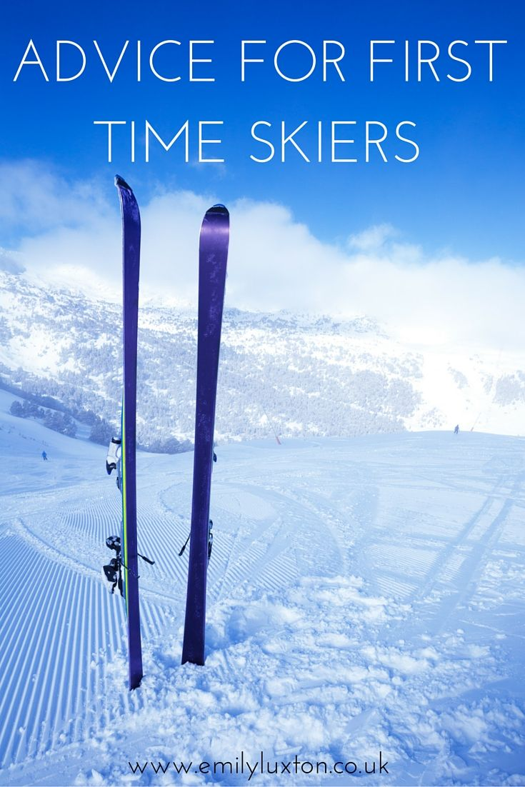 Advice for First Time Skiers - The Ultimate Guide to Your First Ski Trip. Includes what to pack, what to expect, and the answers to those burning questions!
