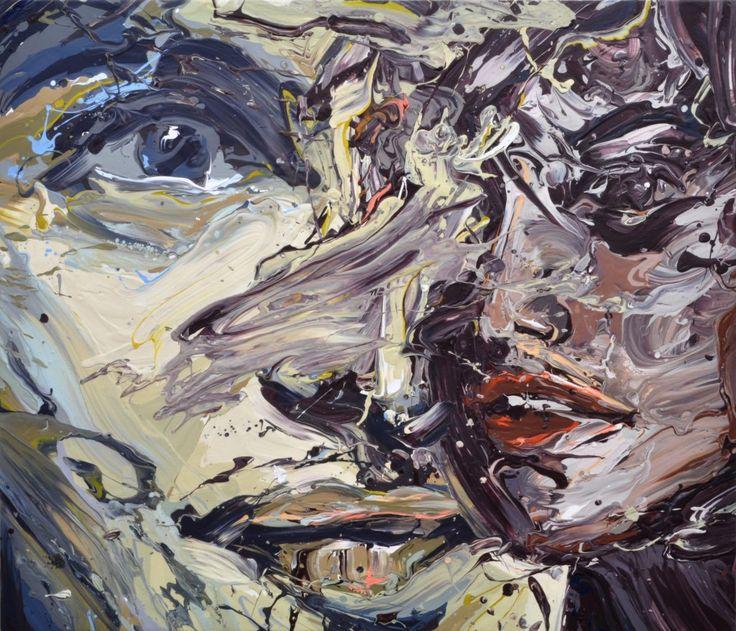 Sirpa Särkijärvi: Transkriptio 7 (The Same), 90x105 cm - Taidemaalariliiton teosvälitys 2016