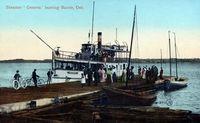Steamer Geneva, 1909 - Barrie