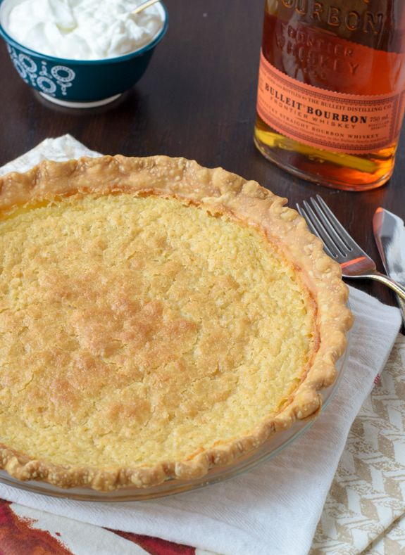 Bourbon Buttermilk Pie. This is the best, easiest pie! Creamy, rich, and you only need 1 bowl for the filling!