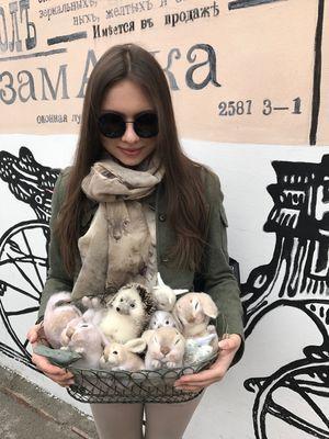Магазин мастера Капинус Софья (Voilok Cat)