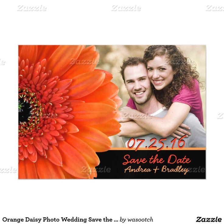 Hot Pink Gerbera Daisy White Wedding Invitation 5 X 7: 136 Best Gerbera Daisy Wedding Theme Images On Pinterest