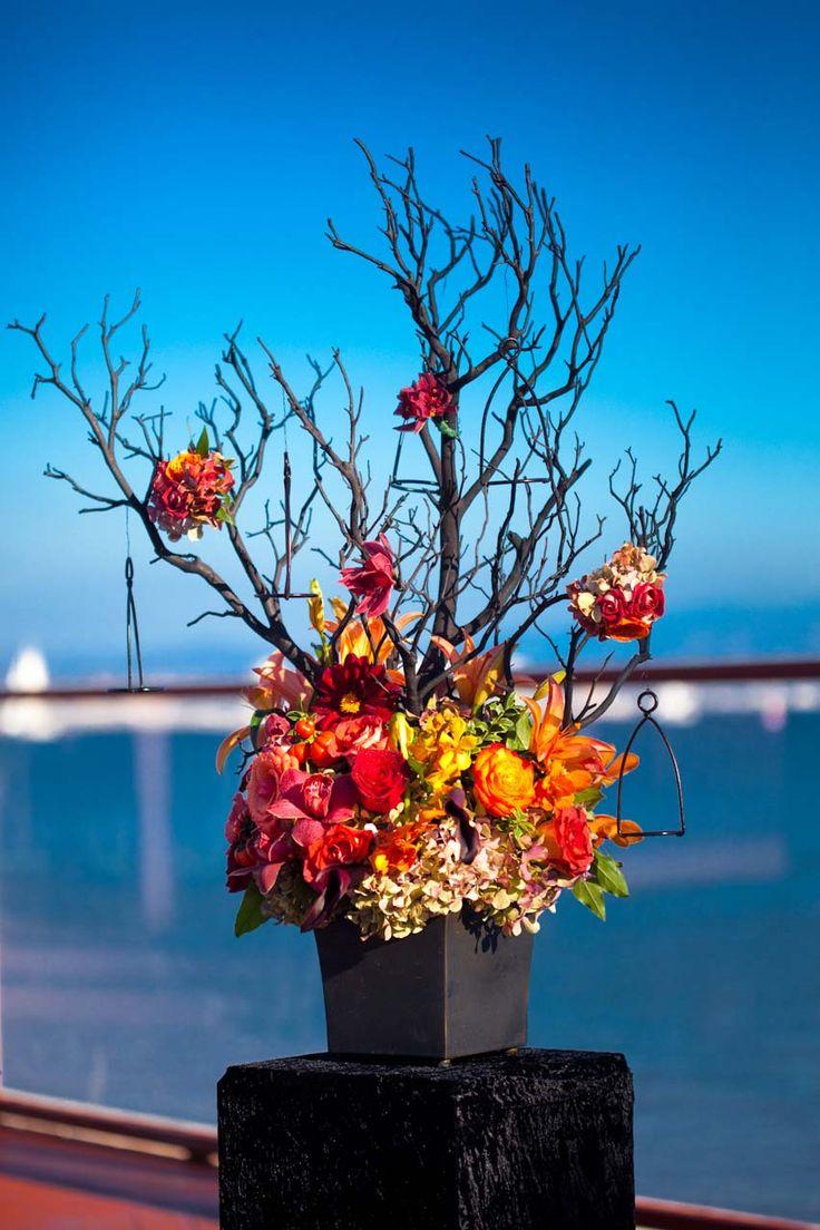 classic halloween wedding tamara jason wedding planning ideas etiquette bridal - Halloween Wedding Decor