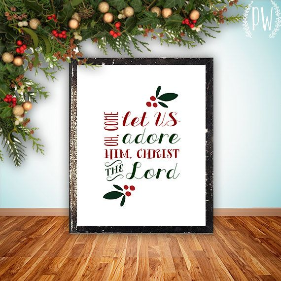 Hand lettered home decor and gifts by PrintableWisdom  Etsy