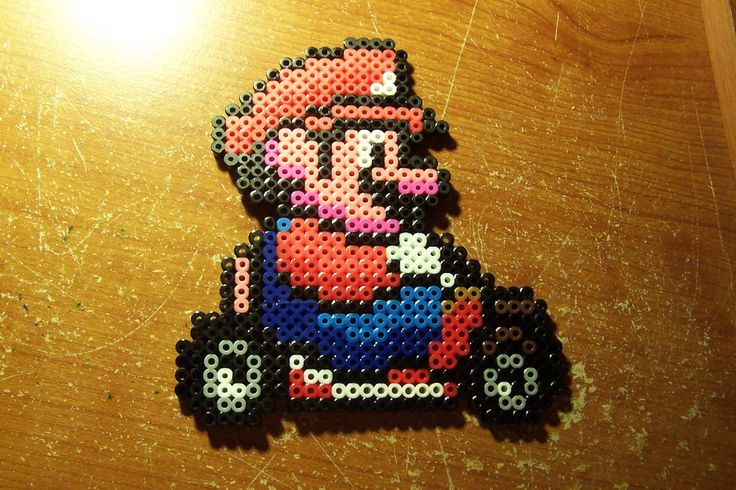 Super Mario Perler Bead Patterns | Car Interior Design