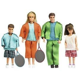 Lundby 1:18 Scale Stockholm Doll Family Sport
