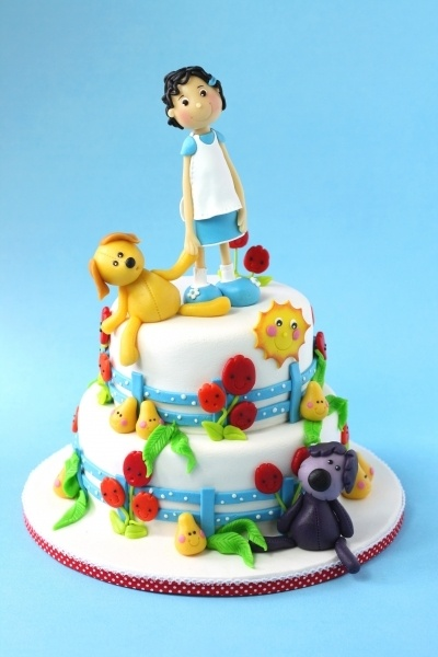 Woezel and Pip... By leonietje1 on CakeCentral.com