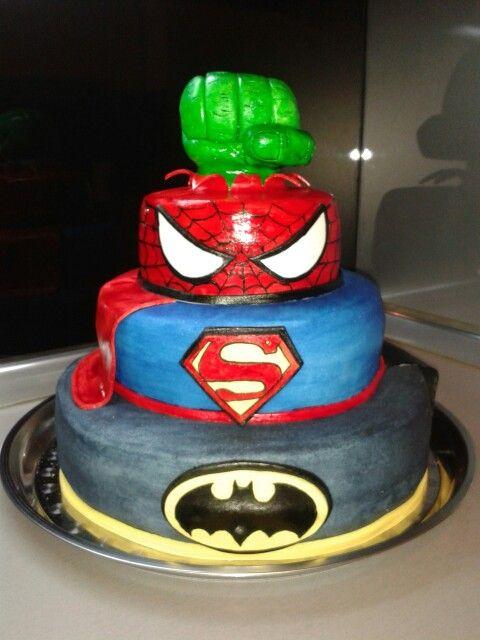 8,5kg  Batman...Superman...Spiderman...Hulk...