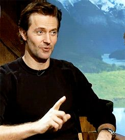 Richard Armitage.....that sly thing he does with his eyes SLAYS me all the way to Erebor and back!