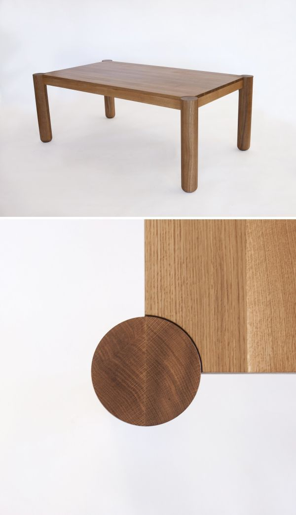 Tarik Table By Yvonne Mouser At S Studio San Francisco Ca Solid Wood