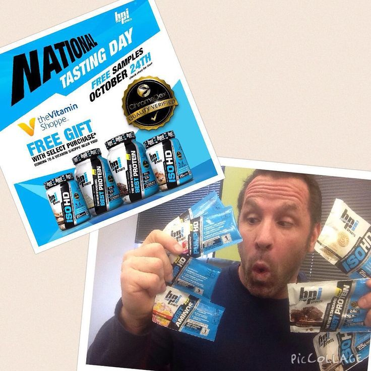 @bpi_sports  National Tasting Day! Saturday from 11-2 at The Vitamin Shoppe at 383 W Army Trail in Bloomingdale IL I'll be handing out samples like candy on Halloween! Come by and say yo! #lifestyle #vitaminshoppe #supplements #pumphd #isohd #nutrition #bestprotein #lifestyle #bpination #bpidemorep #bpisports #teambpi by jdrubino_bpi