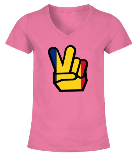 ROMANIA flag winning finger Shirt
