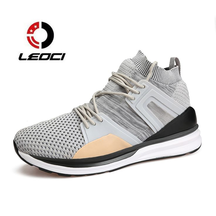 Men Running Shoes Breathable Sock Sneakers Outdoor Men's Athletic Sports Shoes roshe run ultra boost zapatillas deporte hombre  #Affiliate