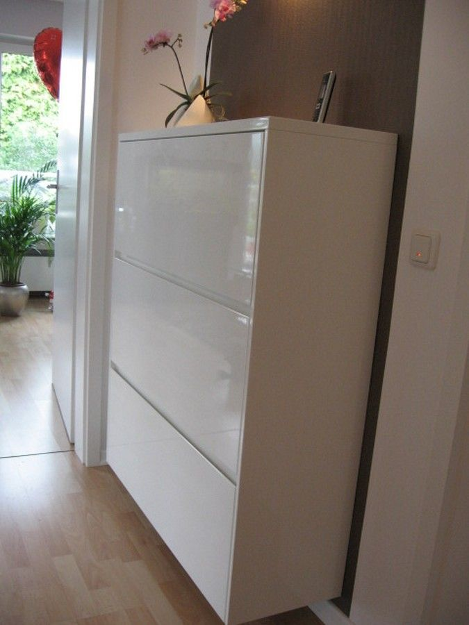Flurmöbel Schuhschrank weiss hochglanz - Home