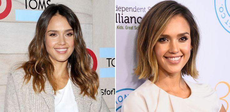 Jessica Alba: addio capelli lunghi. Ecco il nuovo look dell'attrice.. molto primaverile e sexy! Perché non imitarla!