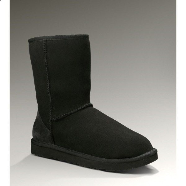 Within the chilly winter,this exquisite Australia 5825 UGG Black Classic Short Snow Boots could be the required daily companion for all those girls who normally pursue fashion.UGG Snow Boots Clearance use authentic twin-face sheepskin as their material which offers excellent insulation to keep your feet away from cold. As we all know, the soft foam insole covered with grade A Australia sheepskin which help you wick away moisture and the light and flexible EVA outsole make UGG special a...