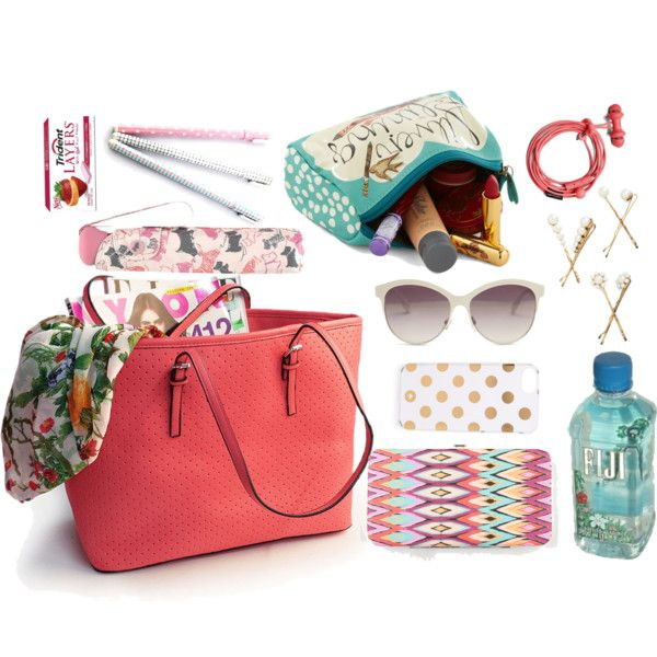 A fashion look from August 2014 featuring Kate Spade tech accessories, Radley umbrellas and Steve Madden sunglasses. Browse and shop related looks.