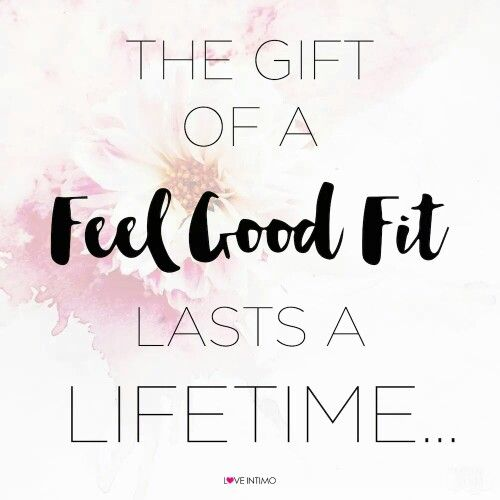 Looking for your feel good fit? Contact me to find out more. Tamara.fraser@intimo.com.au