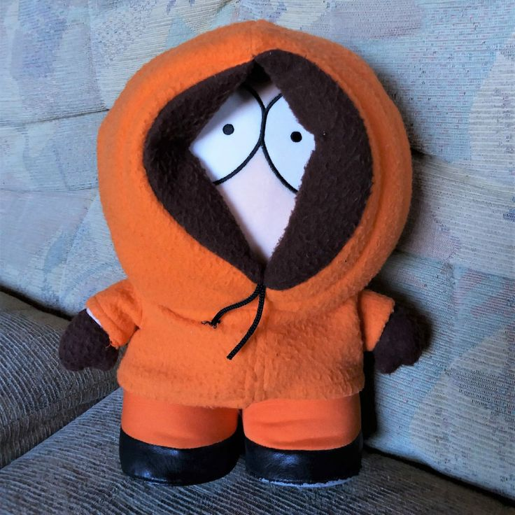 """South Park Talking Kenny Plush Soft Toy - 11"""" - 1998 Comedy Central"""