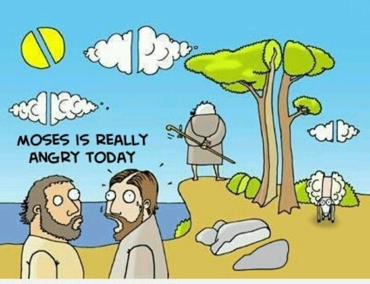 Моисей смешные картинки
