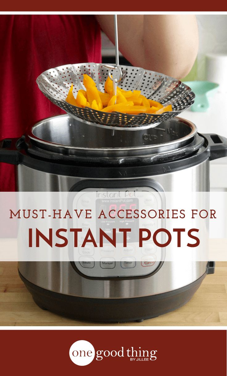 Check out these 10 Instant Pot accessories that will make your new favorite appliance even more useful! You'll be an Instant Pot pro in no time.