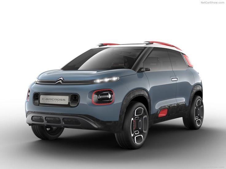Cette Citroën C-Aircross Concept dévoile les futures lignes du prochain SUV de la marque qui arrivera face aux Peugeot 2008 et Renault Captur.