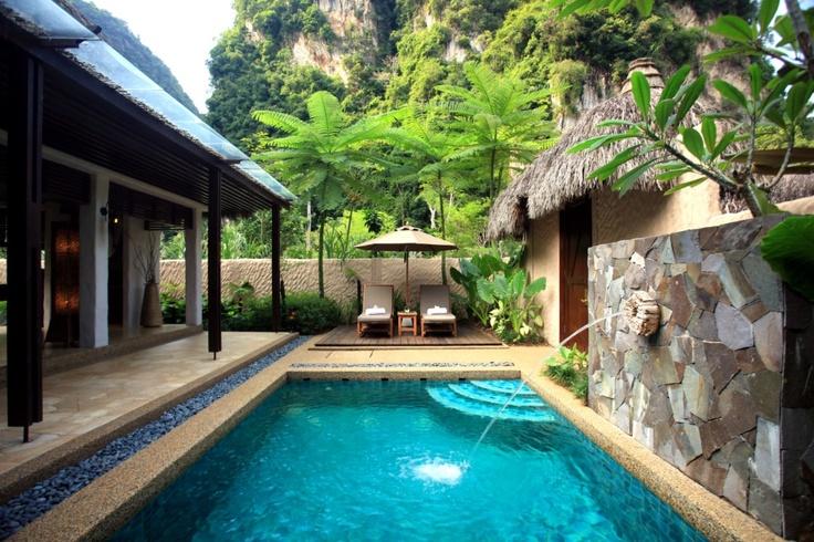 Private pool villa at banjaran hot springs resort ipoh - Resorts in ecr with private swimming pool ...