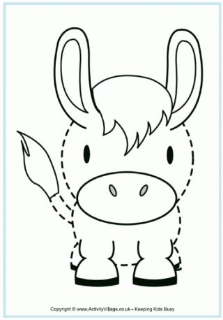 Donkey tracing page