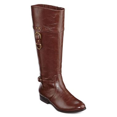 Unisa® Taylan Buckle Riding Boots - jcpenney $69