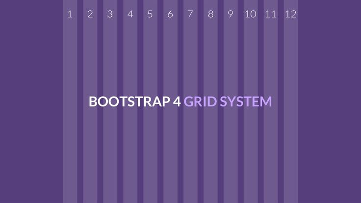 The default grid system of Bootstrap 4 utilizes 12 columns that can help you create any kind of website layout depending on the design.