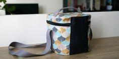 Lunch bag - Un tutoriel gratuit pour confectionner un lunch bag isotherme super pratique pour le boulot ou les sorties picnic.