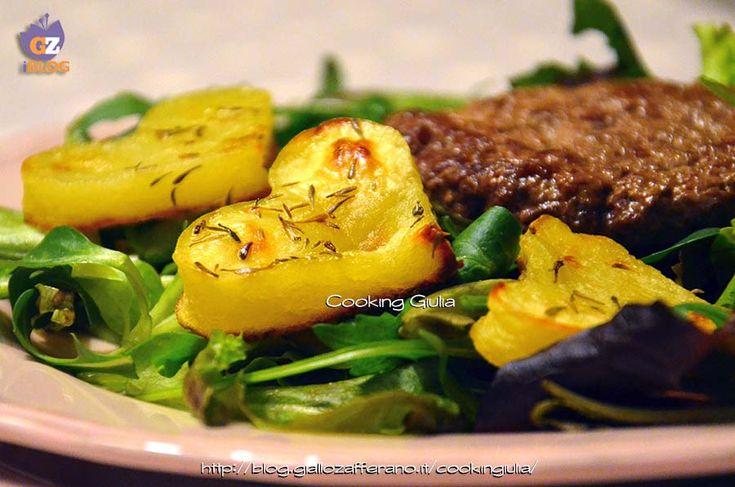 cuori di patate | patate san valentino | cena san valentino