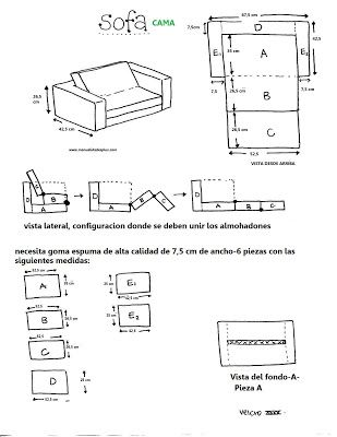 48 best cojin cama images on pinterest sleeping bags for Sofa cama modernos argentina
