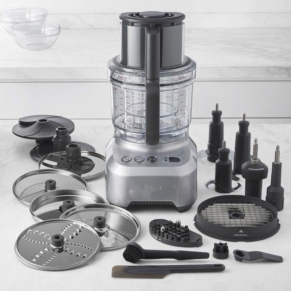 Breville Sous Chef Peel Dice Food Processor 16 Cup Williams Sonoma In 2020 Food Processor Recipes Breville Sous Chef