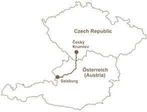 #Cesky_Krumlov_to_salzburg - Looking for shuttle bus transfer from Cesky Krumlov to Salzburg? Choose among shuttle buses and 4-seat cars or 8-seat vans from Cesky Krumlov to Salzburg.
