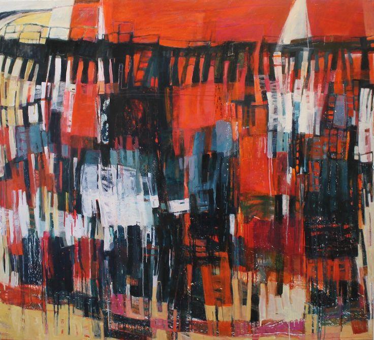 Sunset Moorings –  Oil on Canvas PLATFORMstore