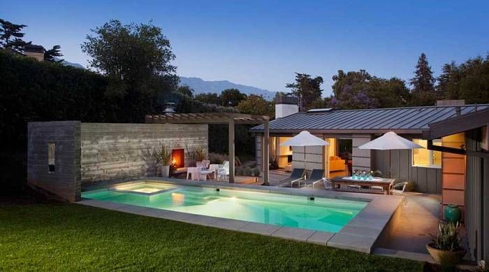 Pool small-pool-house-designs-and-pool-lighting-ideas 27 Aweome Picture of Pool House Designs