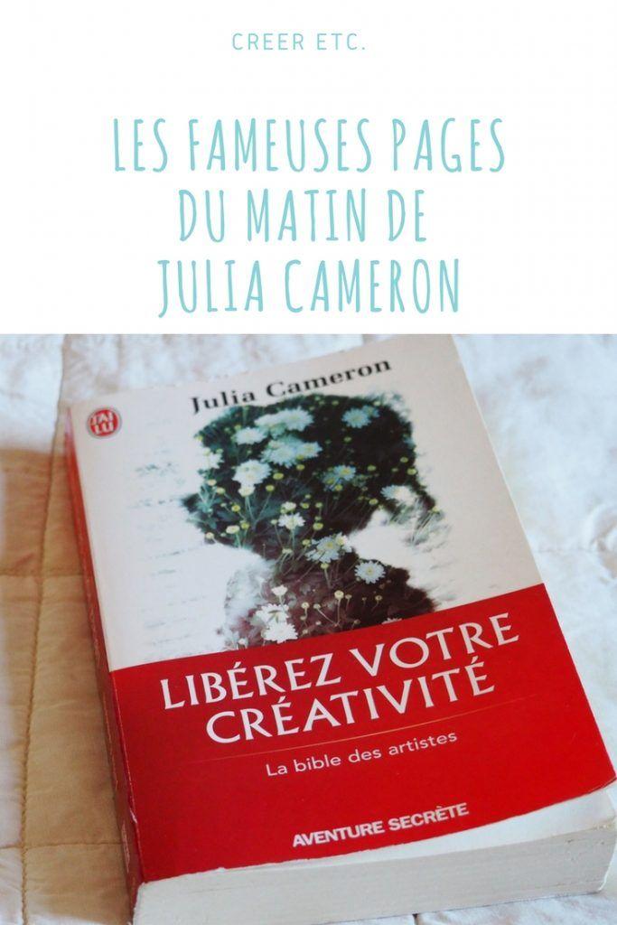 Aujourd'hui j'ai envie de vous parler (encore!) des pages du matin de Julia Cameron et plus généralement de son livre « Libérez votre créativité » qui me résiste, qui me...