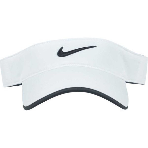Nike Golf Tour Visor ($23) ❤ liked on Polyvore featuring accessories, hats, head accessories, nike, nike golf, sun visor, visor hats, nike golf hats and sun visor hat